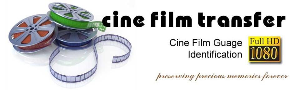 8mm, 9 5mm, 16mm, Polaroid Cine Film Guage Identification -