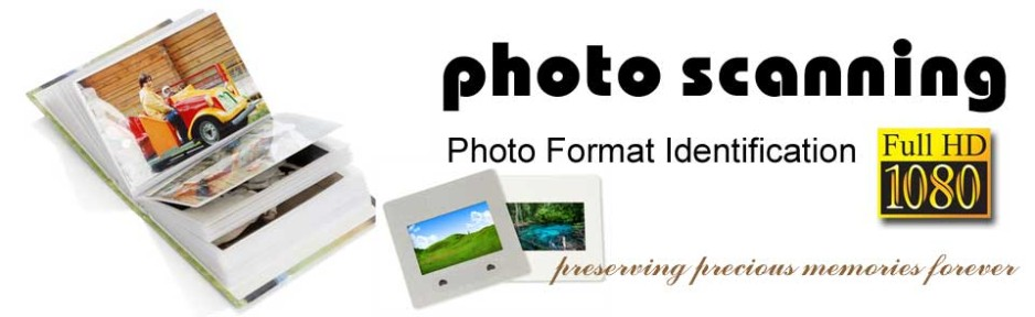 How to Identify Your Photo, Slide and Negative Formats -
