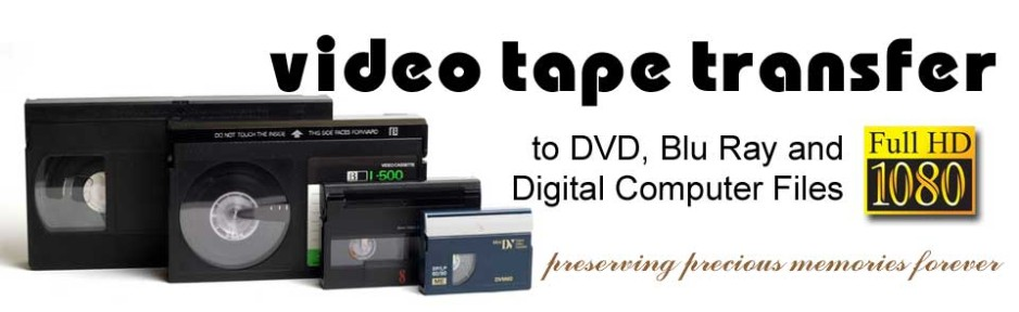 Transfer Video Tape To Digital Format Files Dvd