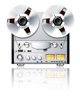 audio reel tape transfer