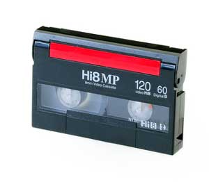 How to Identify Video Cassette Tape Formats -