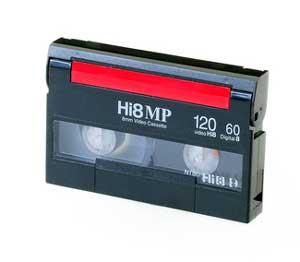Video 8 Hi8 Digital Tape